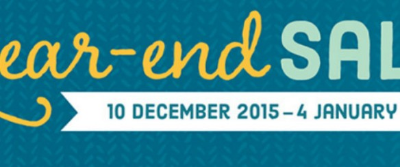 Year End Sale 2015!