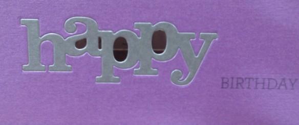 A Purple Birthday?